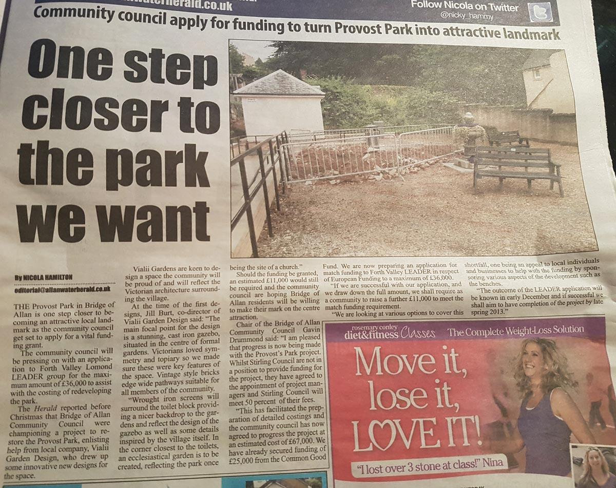 Allanwater Herald August 2012