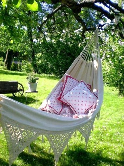 Time to relax in your garden