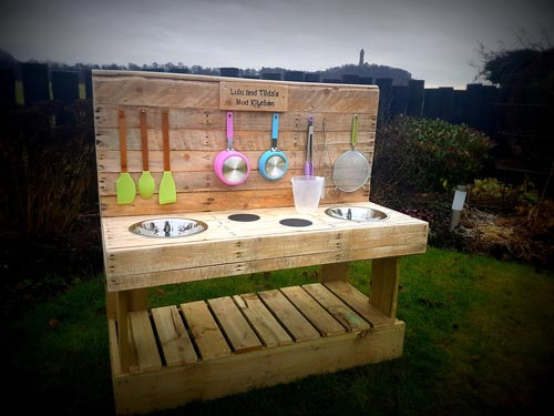 Mud kitchens, a new social enterprise