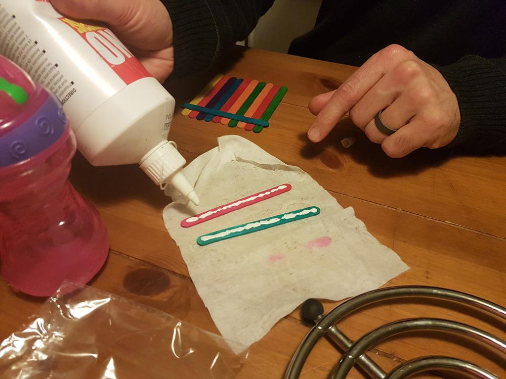 Add glue