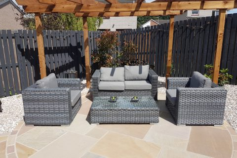 Outdoor lounge set, perfect for relaxing
