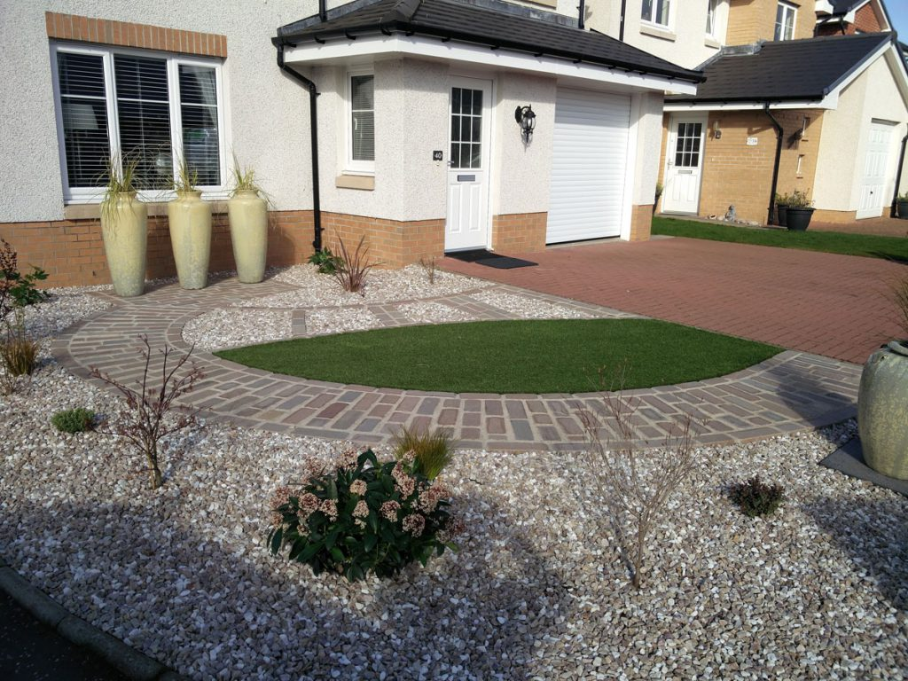 A Low Maintenance Front Garden - Vialii Garden Design