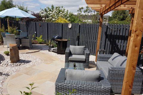 Family garden transformation