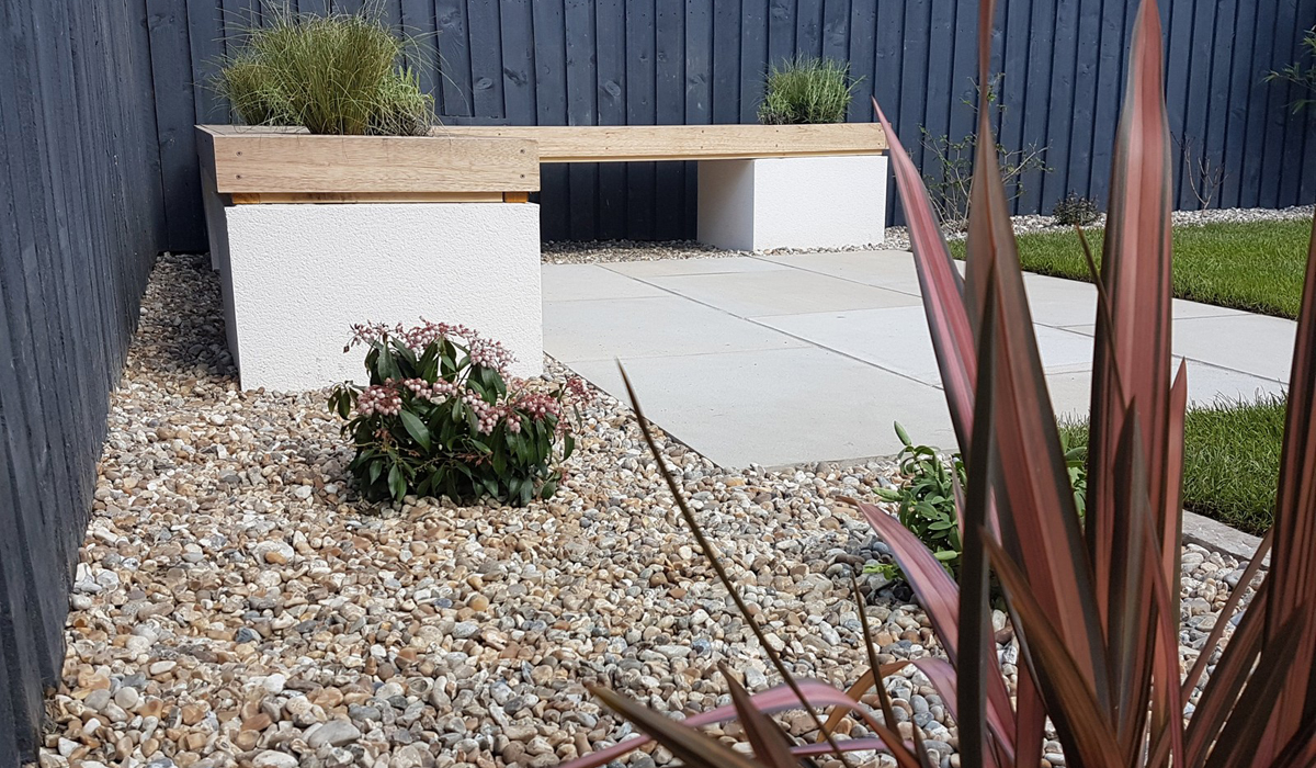 A Stylish Townhouse Garden