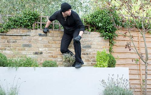 Burgle proof your garden