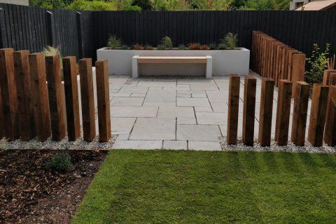The new contemporary family garden