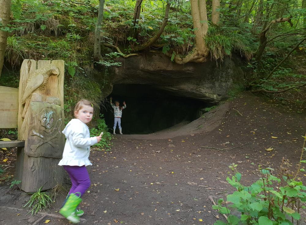 Ben Gunn's cave at the Darn Walk
