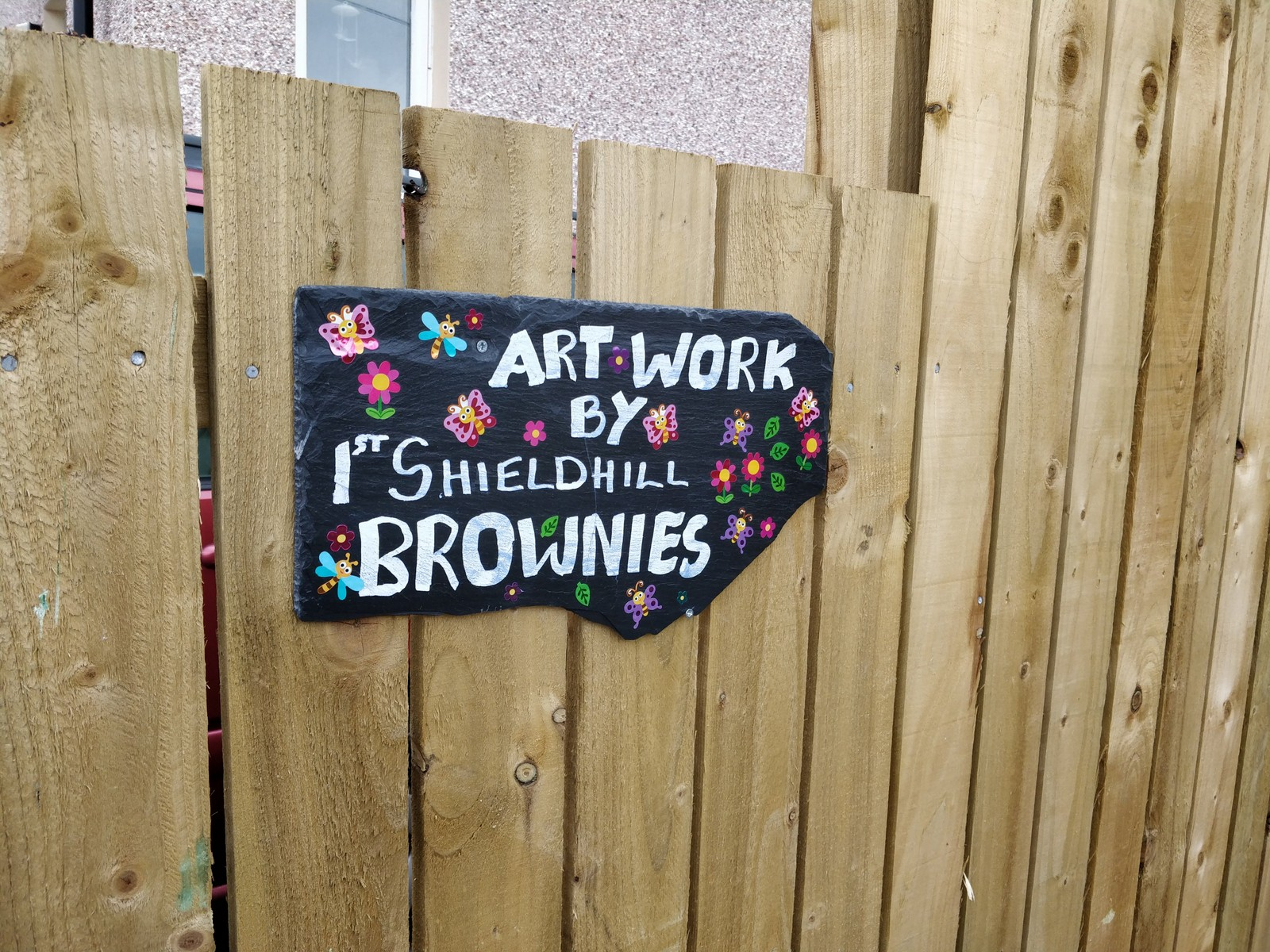 Artwork by 1st Shieldhill Brownies