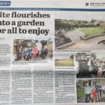 A Vialii garden design featured in the Falkirk Herald