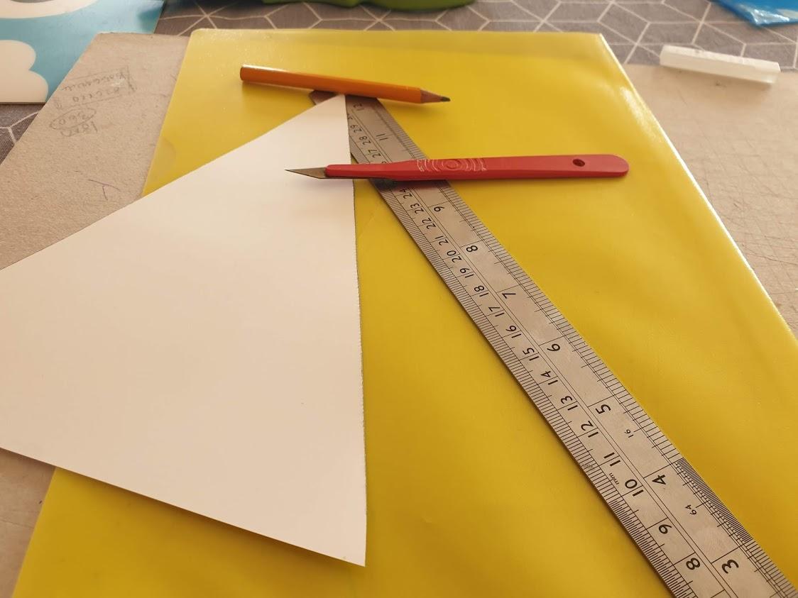 Make your cardboard template