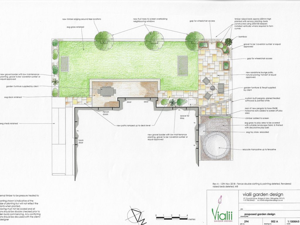 Our design for an accessible garden