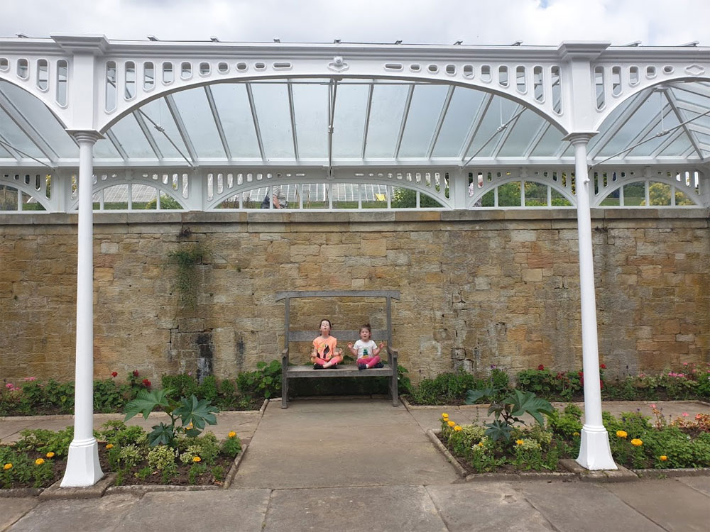 The Loggia is a cast-iron structure