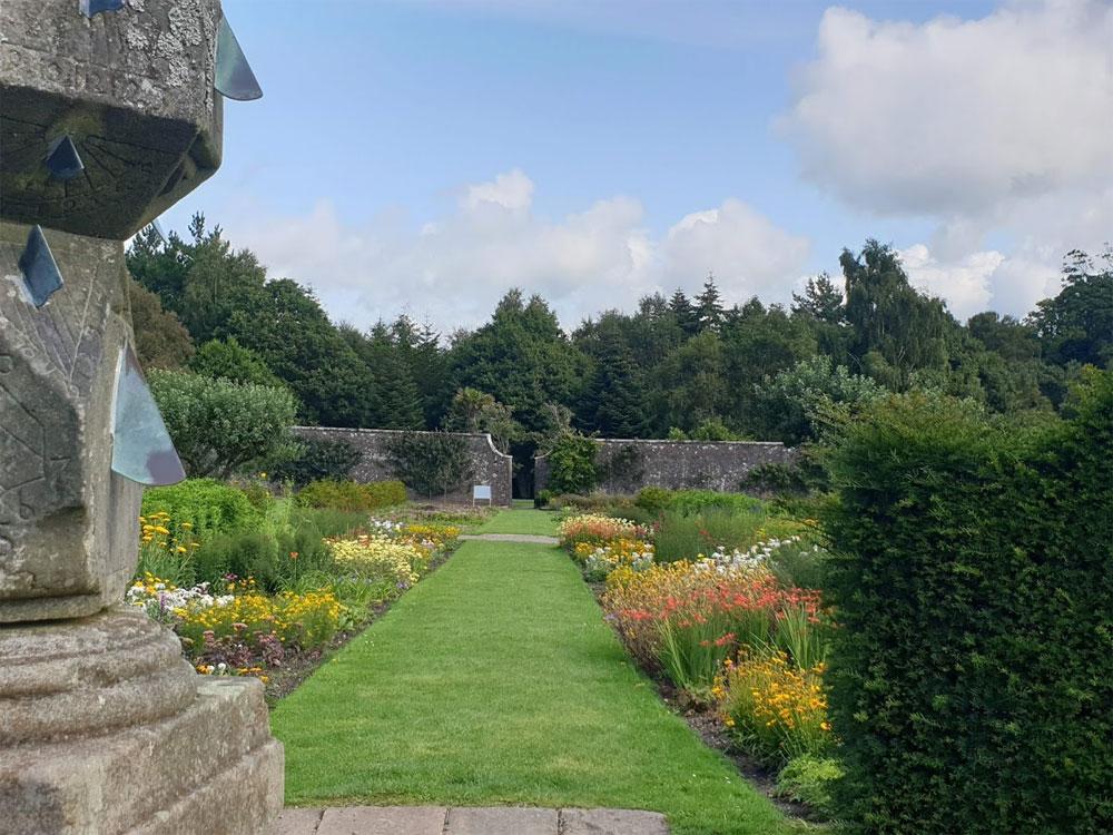 The walled garden at Culzean