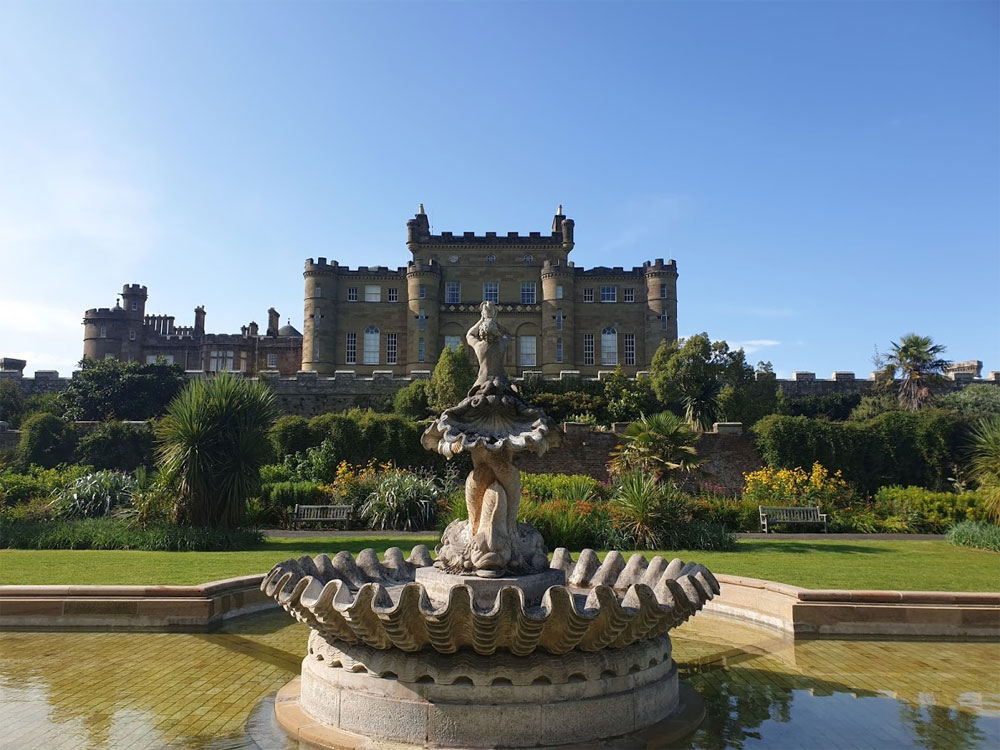 The stunning formal gardens at Culzean