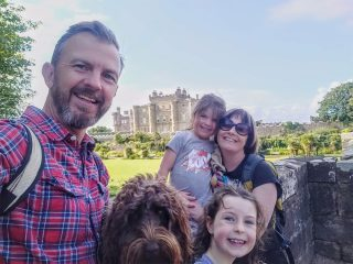 The Burts at Culzean Castle and Country Park