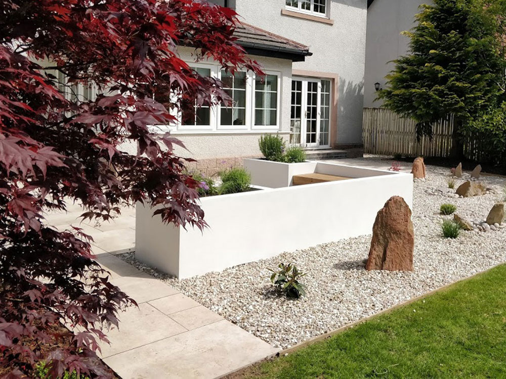 Our skilled in-house landscaping team can follow your garden design exactly