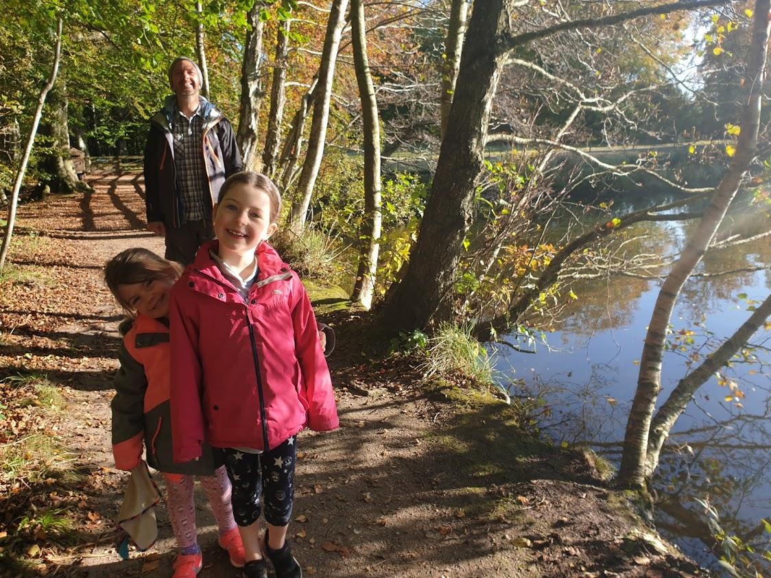 A beautiful walk around the Swan Pond