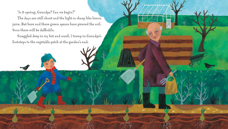 Grandpa's Garden is a beautiful book for younger children