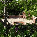 We created this wonderful oasis in a corner of a city garden