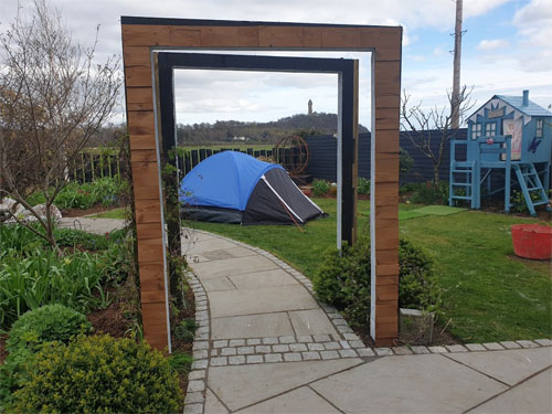 """Our """"archway"""" has been on our to-do list for a while"""