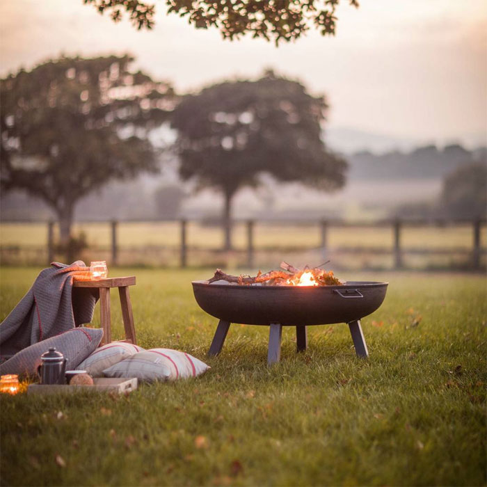 The classic beauty of a fire bowl