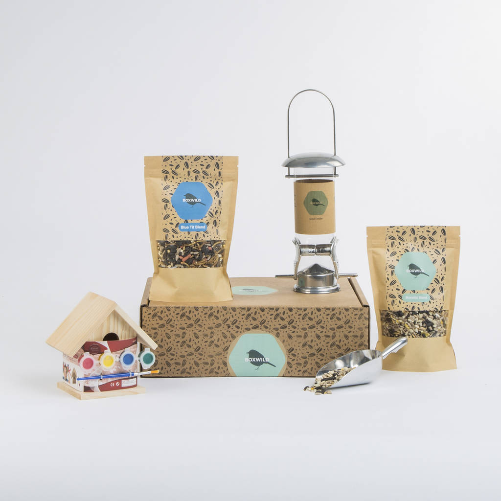 This beautiful set is a gift to your child and your garden birds