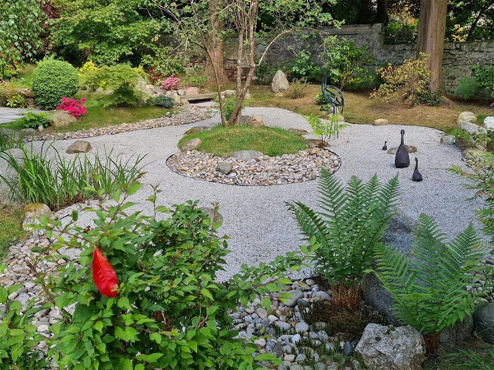 A wonderful surprise of a Japanese Zen garden