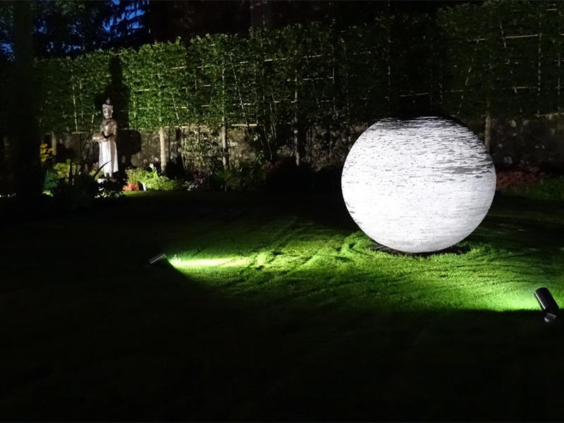 Garden lighting can bring your garden to life at night