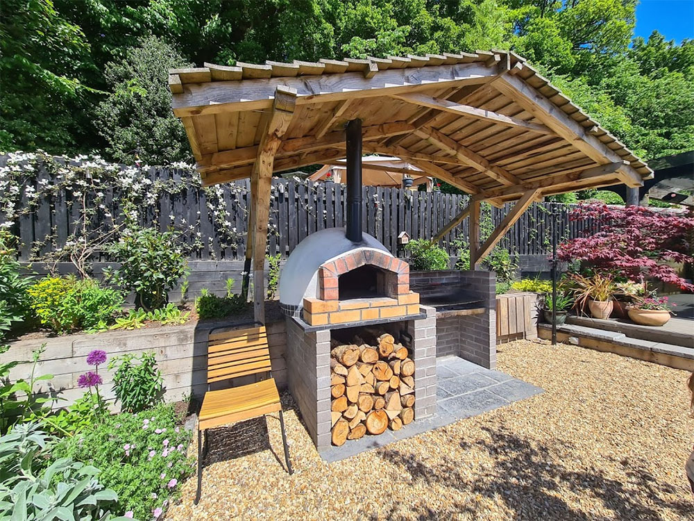 We loved this pizza oven
